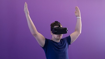 Virtual reality in online casino